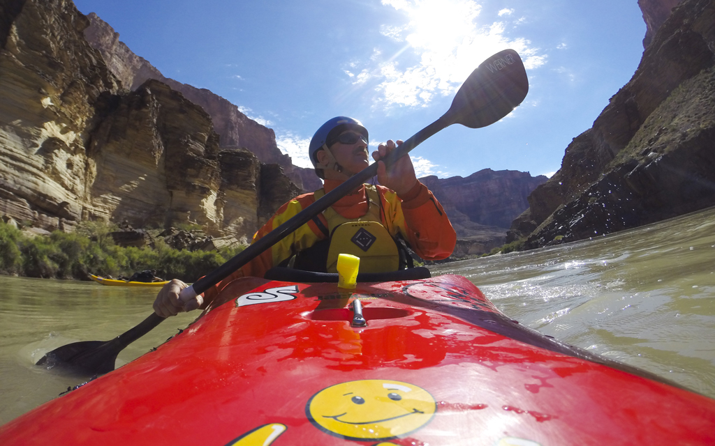 Lonnie Bedwell Kayaking