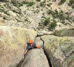 Learning crack climbing